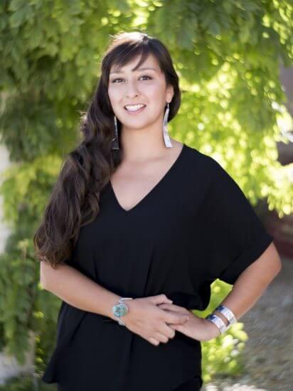 Tazbah Gaussoin (Picuris Pueblo/Navajo)