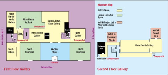 IAIA Museum Layout
