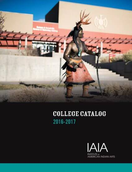 2016–2017 College Catalog (cover)