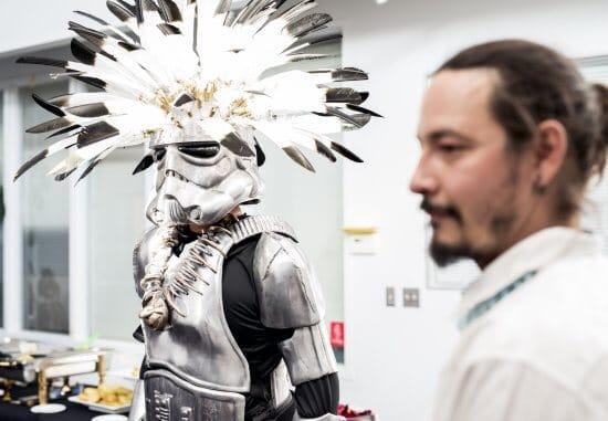 A-i-R Artist Rory Wakemup (Minnesota Chippewa Tribe)