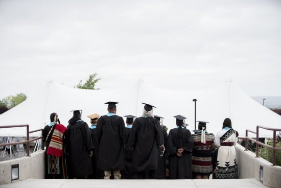 IAIA Graduates During the 2016 IAIA Commencement
