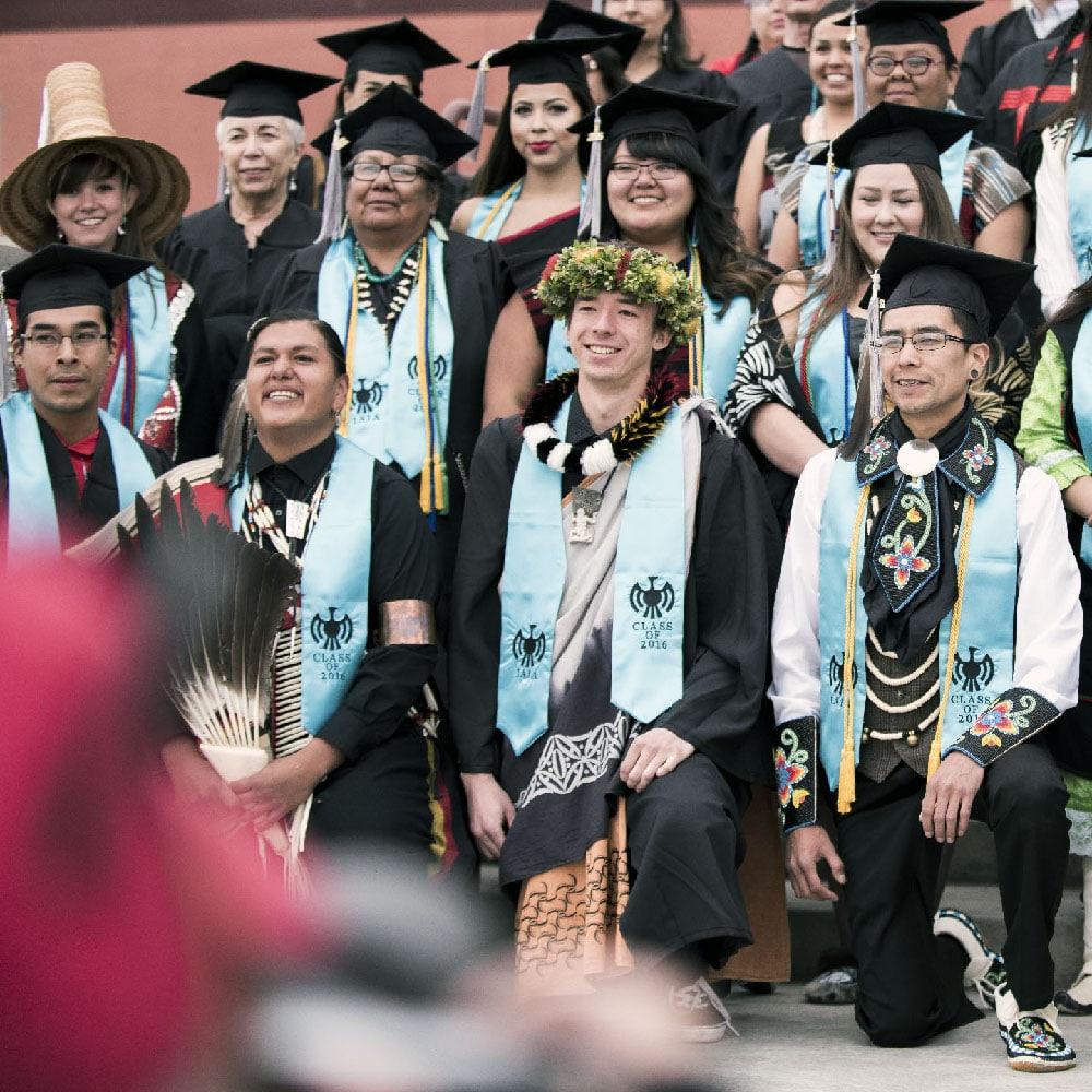 IAIA Walk to Graduation