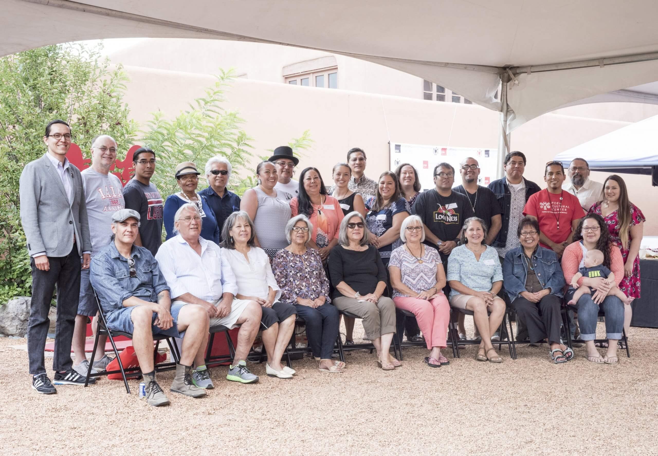 2016 IAIA Alumni During Luncheon