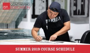Summer 2019 Continuing Ed Schedule