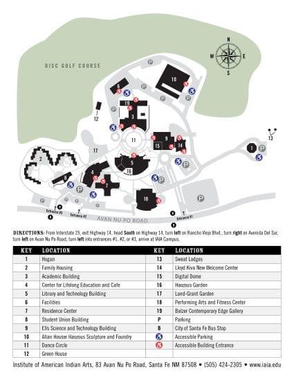 IAIA Campus Map