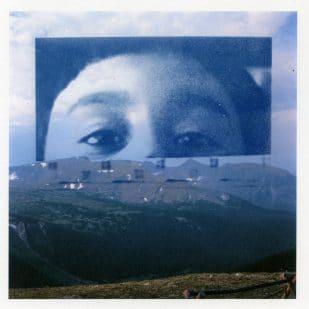 """Untitled, cyanotype, inkjet archival print, 12"""" x 12"""", 2018"""