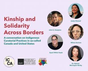 Kinship and Solidarity Across Borders flier