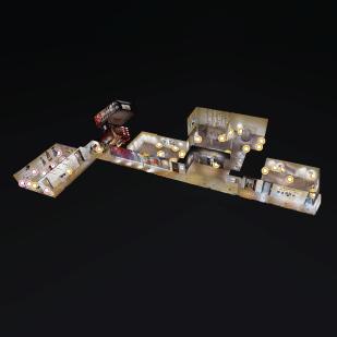 Screenshot of Virtual Museum