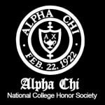 Alpha Chi logo