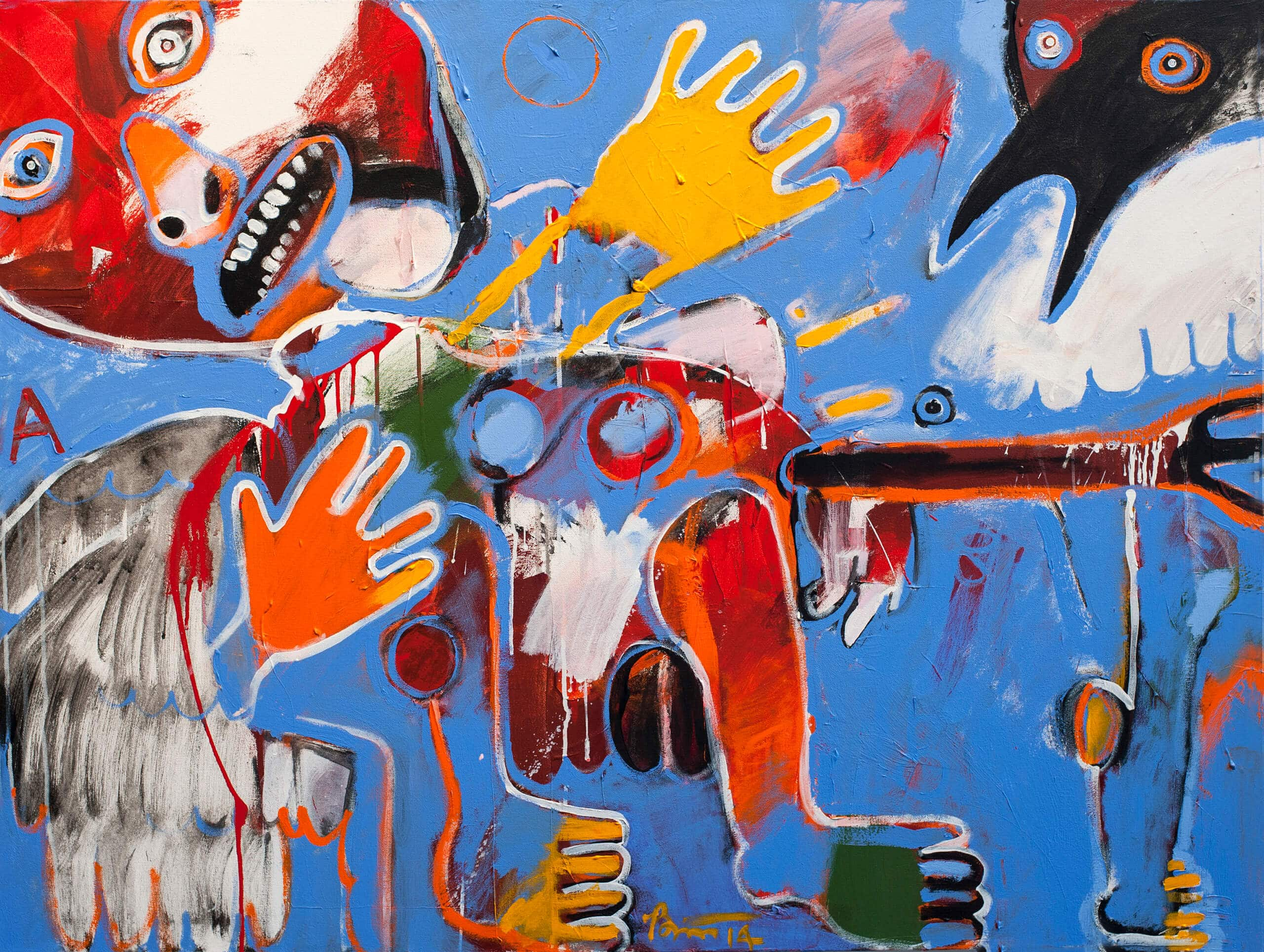 Contemporary Native American Artist Rick Bartow Passes Away Institute Of American Indian Arts Iaia