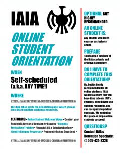 IAIA Online Student Orientation