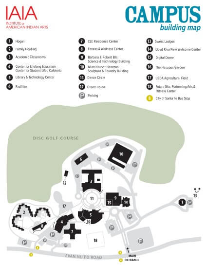 IAIA Campus Map