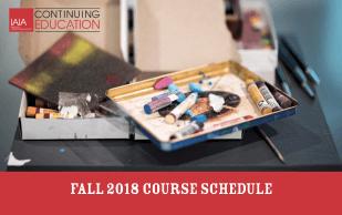 Fall 2018 IAIA Continuing Education Brochure