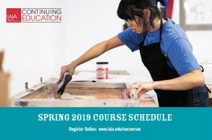 Spring 2019 IAIA Continuing Ed Course Schedule