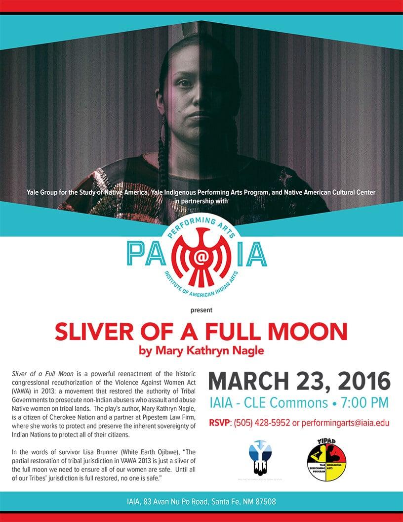 Sliver of a Full Moon Flier