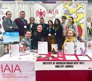 IAIA Students and Alumni at the AWP Conference