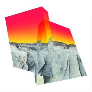"""<em>Altered Landscape No. 1</em>, 2019, Digital C-Print Face-Mounted to Shaped Acrylic, 35"""" x 35"""" x 1"""", Edition of 3"""
