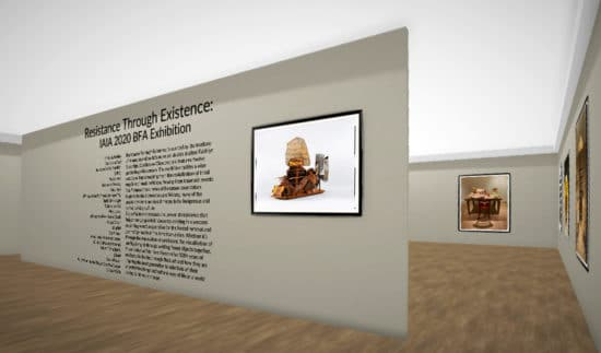Resistance Through Existence, Virtual Reality Exhibition