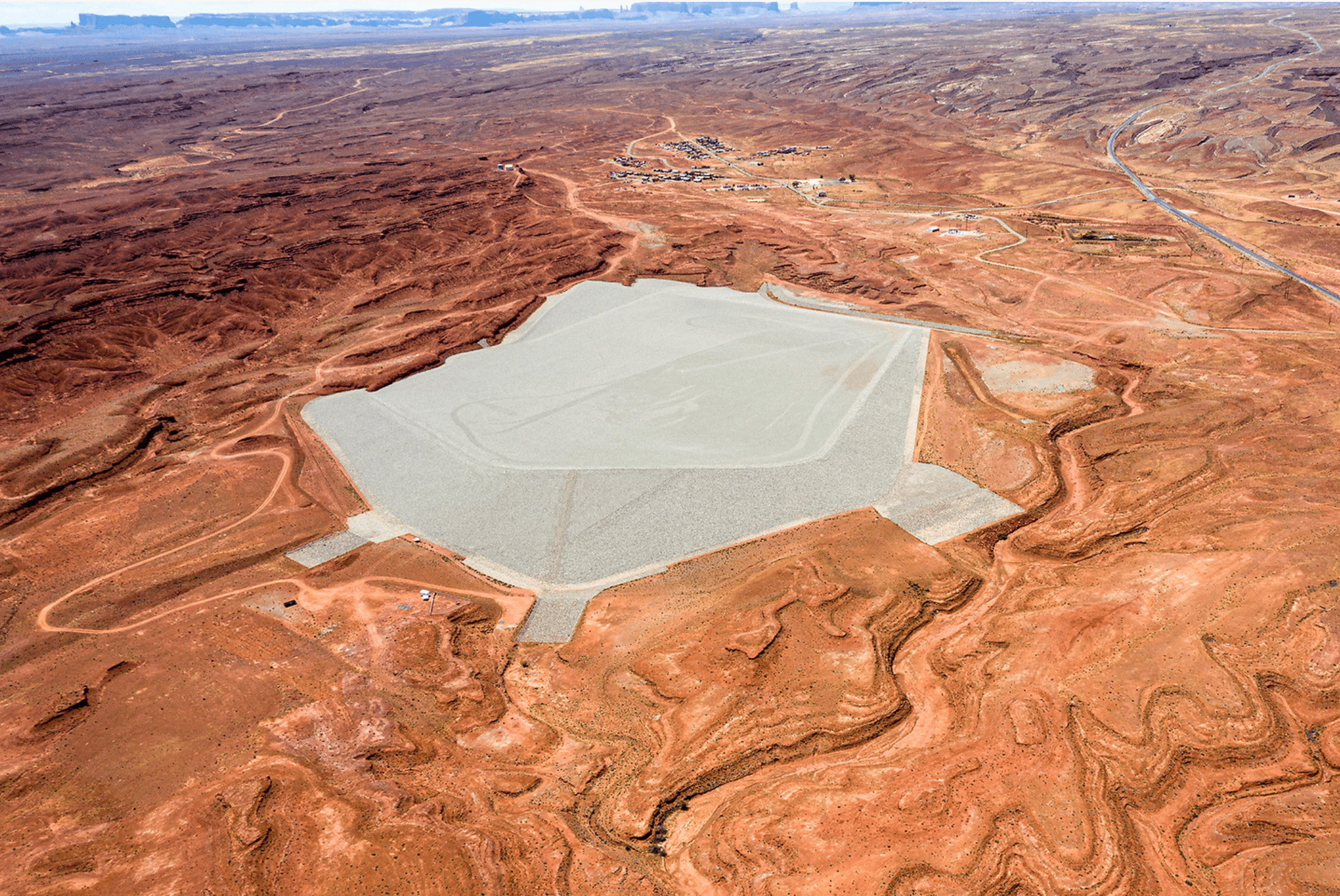 """Will Wilson (Diné), """"Mexican Hat Disposal Cell"""""""